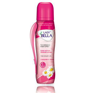 Lady Bella Hair removal spray