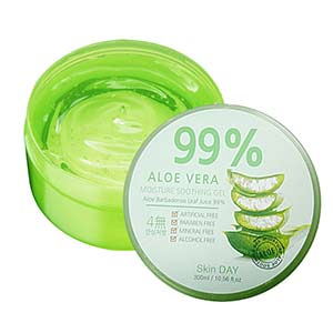 Skinday Aloe Vera Moisture Soothing Gel 99 %