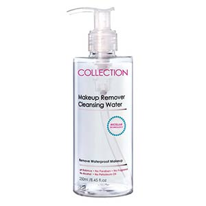 collection cleansing water รีวิว
