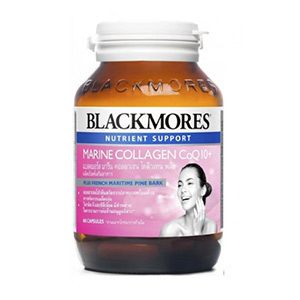 คอลลาเจน Blackmores-Marine-Q10-Collagen-Advance