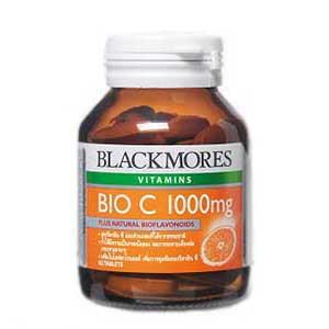 วิตามินซี แบล็คมอ Vitamin C Blackmores Bio c