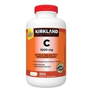 วิตามินซี Kirkland Signature Vitamin C 1000 mg