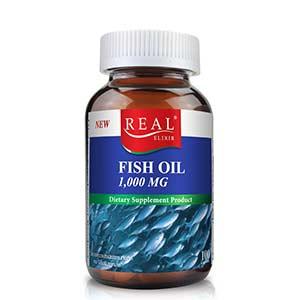อาหารบำรุงสมอง Real Elixir FISH OIL