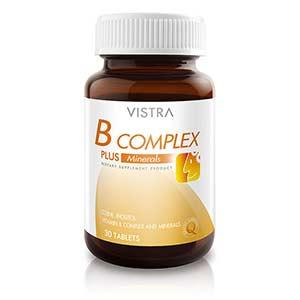 บํารุงสมอง Vistra-B-Complex-Plus-Mineral