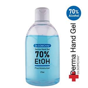 เจลล้างมือแอลกอฮอล์ Dr.Somchai-Derma-Hand-Gel