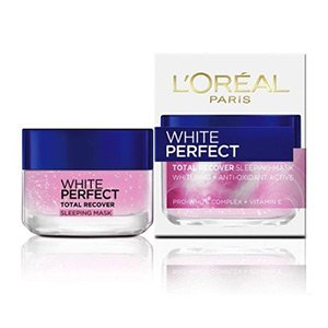 SLEEPING-MASK L'OREAL-PARIS-WHITE-PERFECT-TOTAL-RECOVER