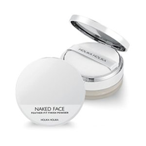 แป้งฝุ่น Holika-Holika-Naked-Face-Feather-Fit-Finish-Powder