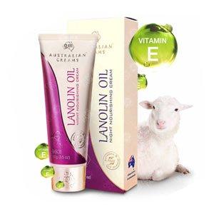 ไนท์ครีม Australian-Lanolin-Oil-Night-Nourishing-Cream