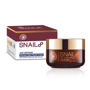 ไนท์ครีม SNAIL8-Age-Defense-ultimate-Night-Repair-cream-50g