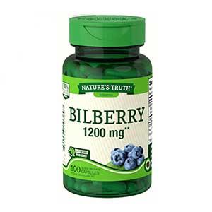 อาหารเสริมบำรุงสายตา Nature's Truth Bilberry-