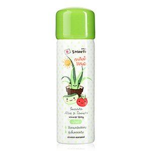 สเปรย์น้ำแร่ Smooto Japan Aloe & Tomato Mineral Spray 50ml