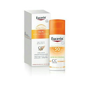 cc cream EUCERIN Sun CC Cream Acne Oil Control 50+ PA++++ Light