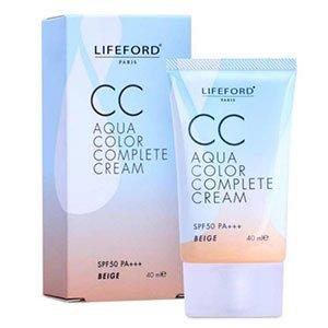 cc cream Lifeford Paris CC Aqua Color Complete Cream SPF 50 PA++