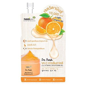 ครีมซองเซเว่น Nami Jeju Vitamin C Brightening Gel