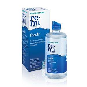 น้ำยาล้างคอนแทคเลนส์ Renu