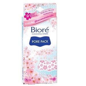แผ่นลอกสิวเสี้ยน Biore Pore Pack Aroma-10pcs-